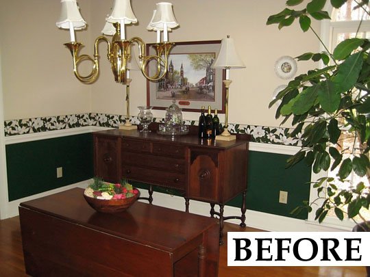 Dining Room Transformations Bring Style Back Into Focus Enchanting Dining Room Makeover Ideas