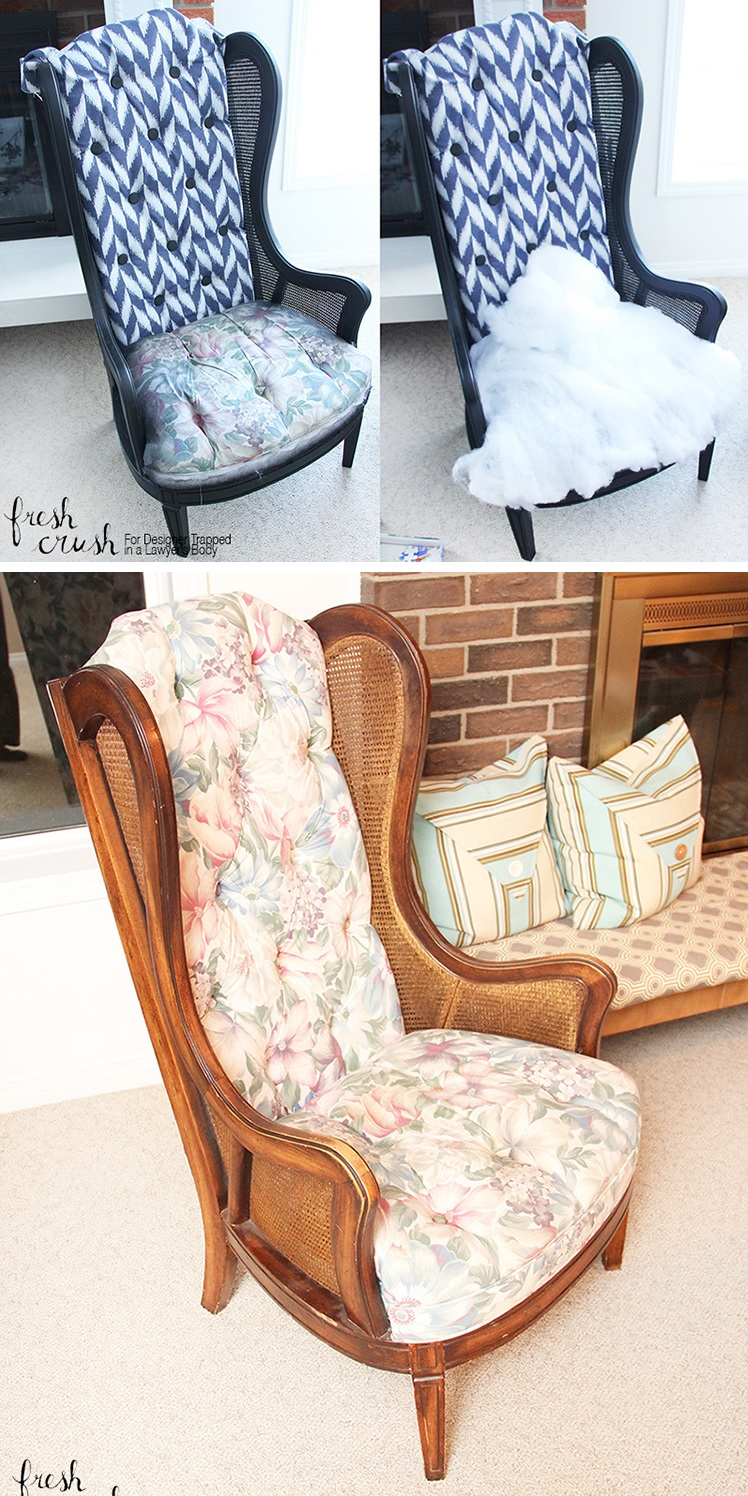big chair makeover project