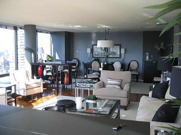 Grey And Beige Living Room
