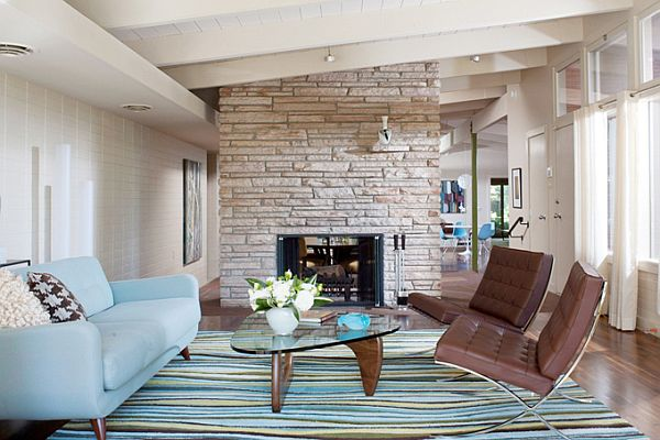 Brown And Blue Living Room 20 blue living room design ideas