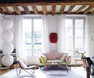 Vanessa Bruno's mixed Paris apartment