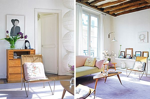 Vanessa Bruno S Mixed Paris Apartment