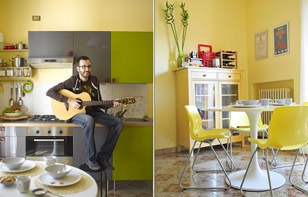 Fresh One-bedroom Apartment In Italy With A Cheerful