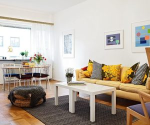 Bright and inviting 56 square meters apartment in Gothenburg