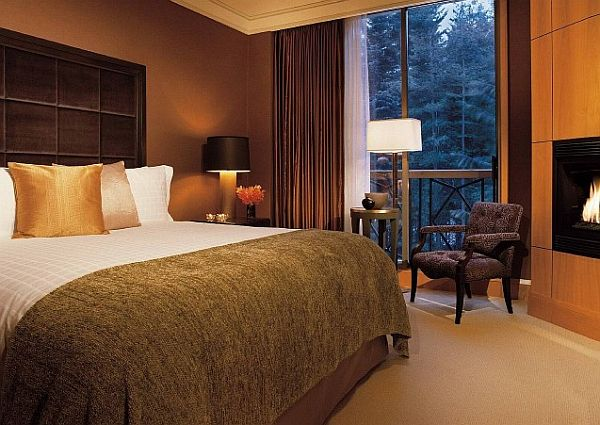 What colors work well with brown in the bedroom Brown and green master bedroom ideas