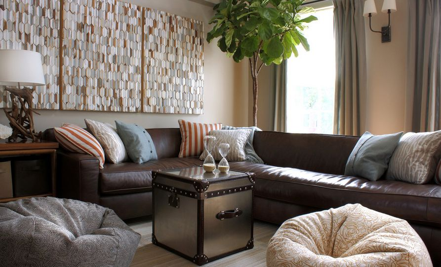 Living Room Decorating Ideas For Brown Furniture what colors work well with brown in the bedroom