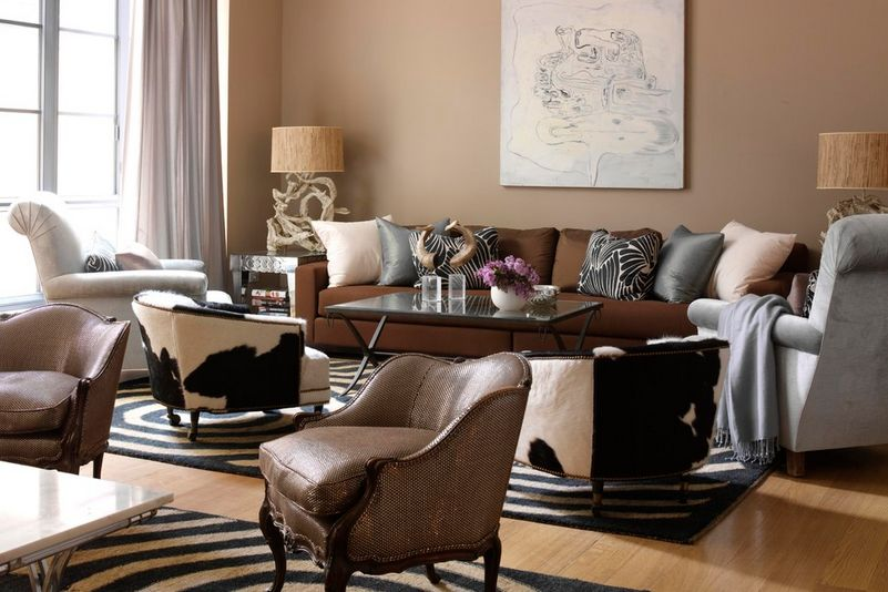 Living Room Colors With Brown Furniture what colors work well with brown in the bedroom