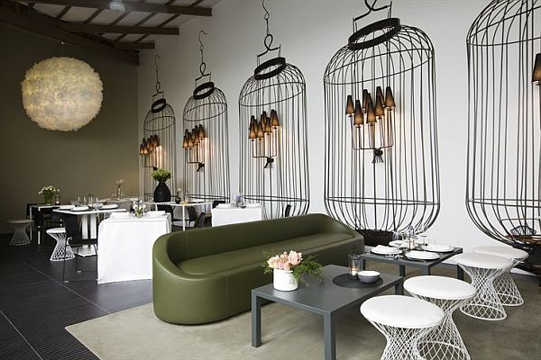 The home delicate restaurant interior design by logica
