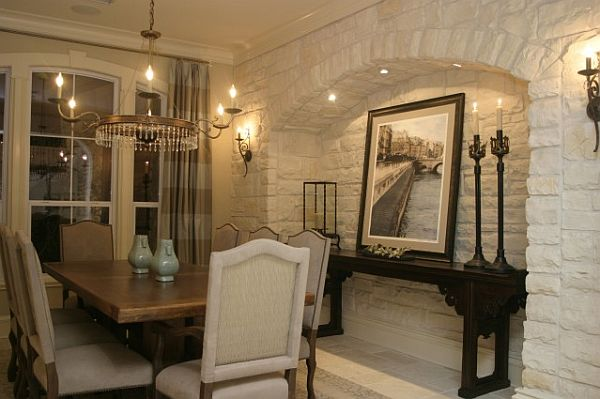 How to create a beautiful dining wall for Gorgeous dining rooms