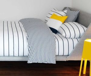 The strong visual effect of stripes and how to work with it