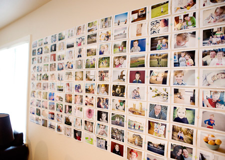 Easy And Cheap Diy Photo Wall