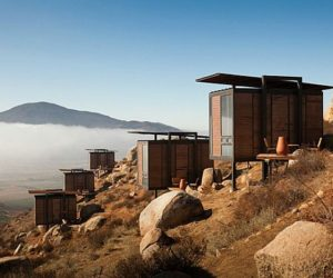 The eco hotel Endemico in Baja, Mexico
