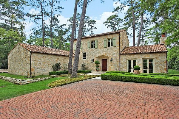 Stylish faux french farmhouse in houston French provence style homes