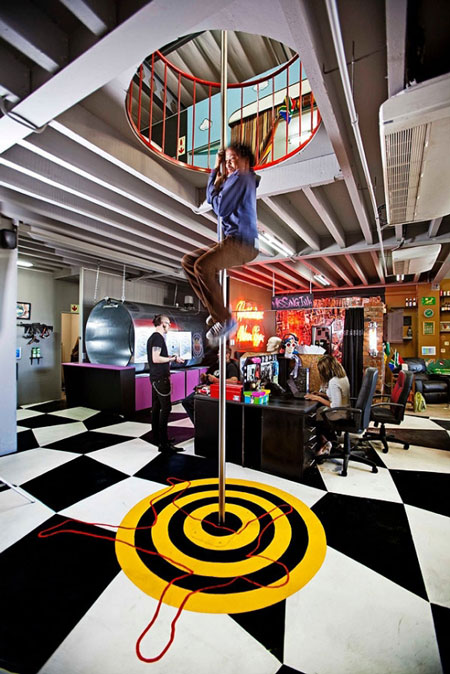 The most fun and creative workplace you can find for Interesting office interiors