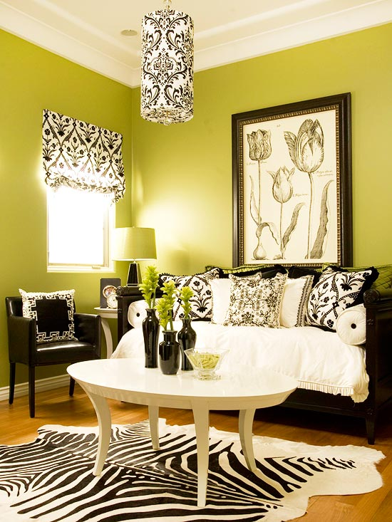 Green Living Room Mesmerizing 15 Green Living Room Design Ideas Decorating Design