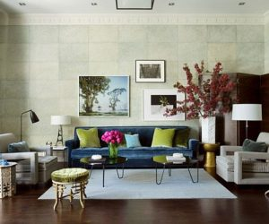 15 Green Living Room Design Ideas Part 86