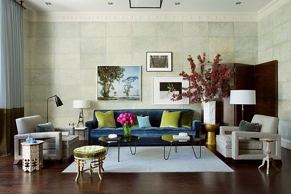 Elegant 15 Green Living Room Design Ideas