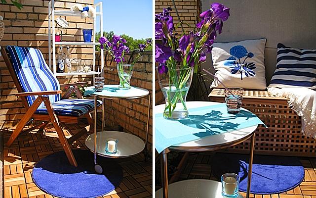45 inspiring small balcony design ideas for Small balcony seating ideas