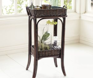 Morris Floor Storage from Pottery Barn