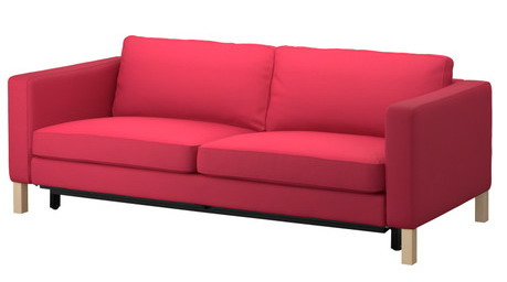 Red Sofa Ikea Ikea Red Sofa Bed With Storage In Hersham