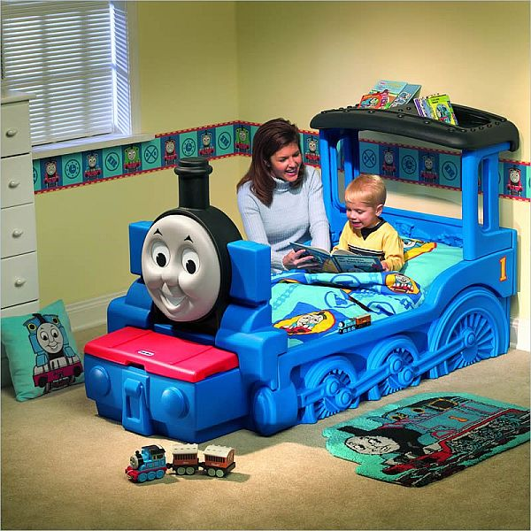 Beautiful The Friendly Thomas U0026 Friends Train Bed For Kids
