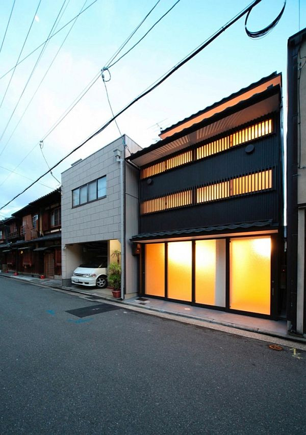 Tiny Home Designs: Stylish Small Town House In Japan