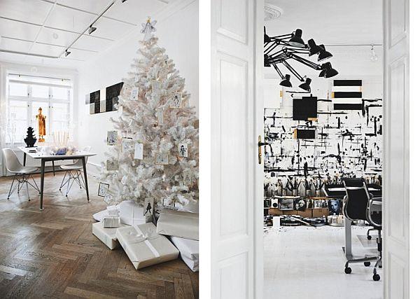 Stylish Black And White Scandinavian Interior