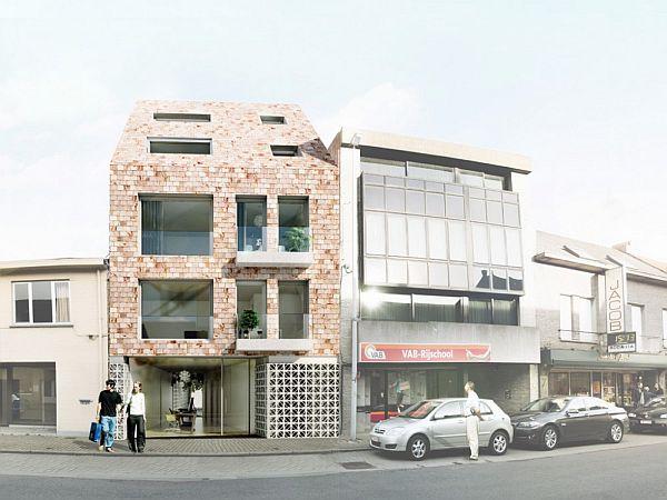 Elegant The Lebbeke Apartment Building Project By Weysen U0026 De Baere Architects Good Looking