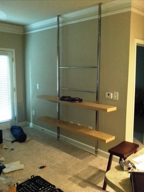 How To Create A Floor Ceiling Tv Entertainment Center
