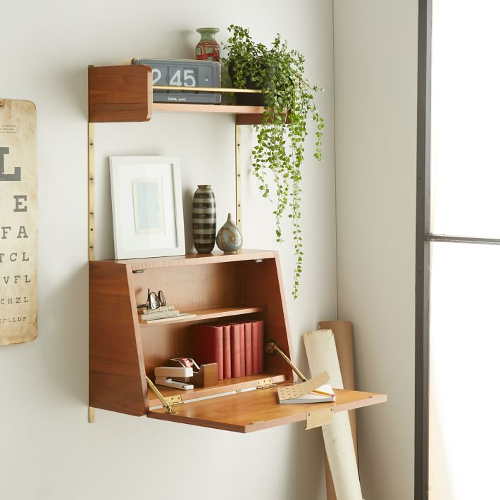 Midcentury Wall Desk