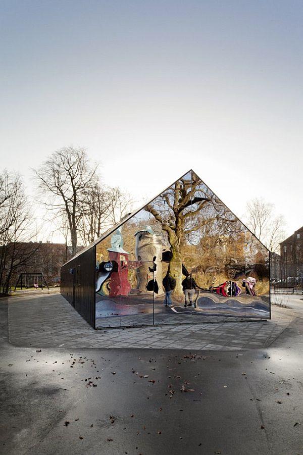 Wonderful OTTAWA Children Playground By Emiliana Design Studio · Modern  Shaker Floor Mirror Modern Shaker Floor Mirror · View In Gallery. View In  Gallery