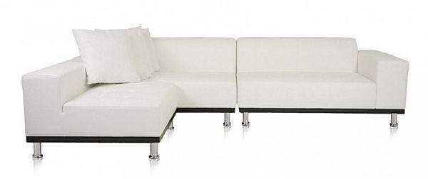 The Elegant White Phantom Sectional Sofa