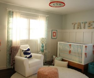 Tate's fresh and beautiful nursery interior design