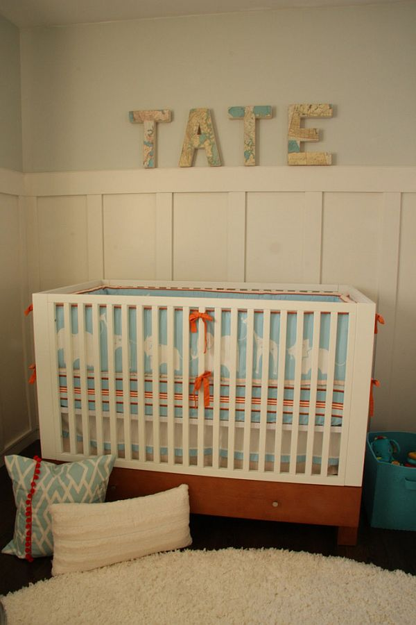 Tate S Fresh And Beautiful Nursery Interior Design
