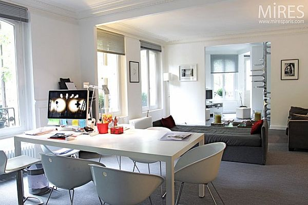 Another type of parisian apartment for Stylish computer desk for living room