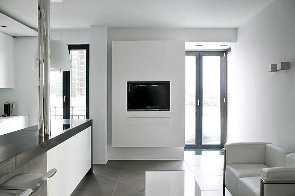 Modern studio apartment in reykjavik for Modern house hk