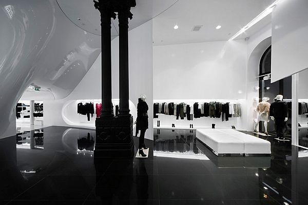 Amazing capsula multibrand store by sandor gocsei eniko for Multifamily design