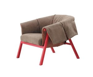 The Okumi armchair by Studio Catoir