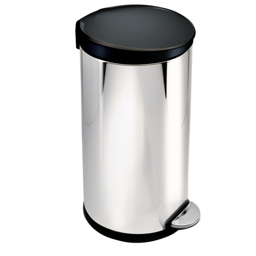 Round Step Trash Can