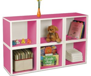 ... Storage Pink Cubes For The Kids Room