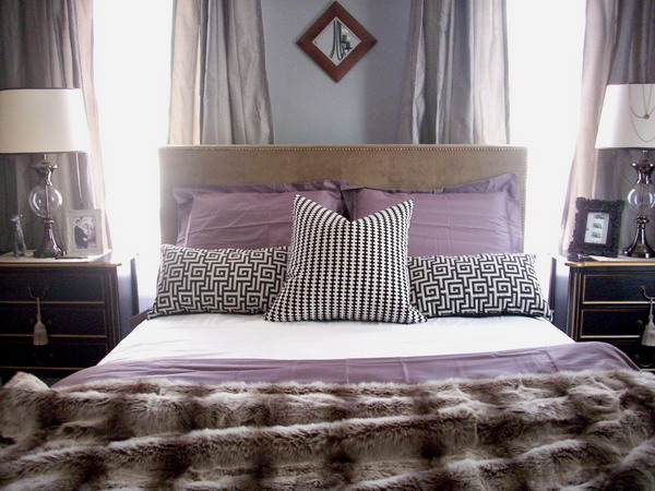 purple and white bedroom combination ideas 17803 | purple and white in bedroom combination13