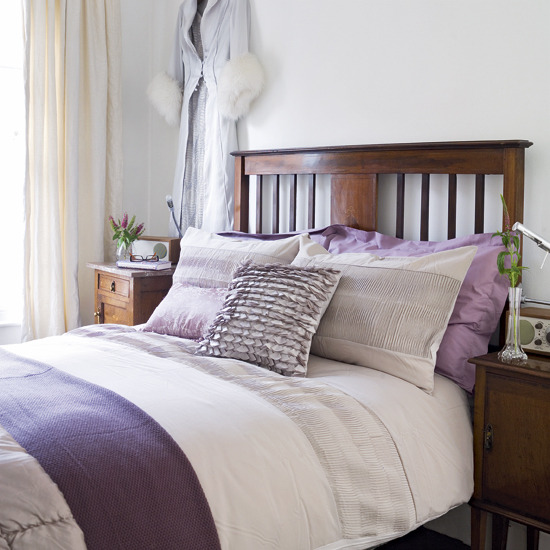 Bedroom Colors Lilac purple and white bedroom combination ideas