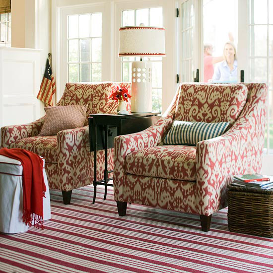Red Living Room: 15 Red Living Room Design Ideas