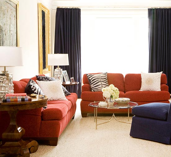 15 red living room design ideas Living room designs 2012