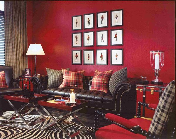 why should we choose red for walls. Black Bedroom Furniture Sets. Home Design Ideas