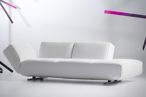 The modular rising dunes project by braun maniatis for Settee without back