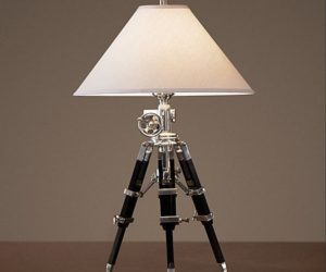 Royal Marine Tripod Lamp