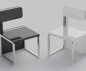 The Sensei chair/table set by Claudio Sibille