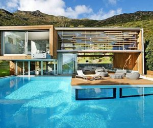 Contemporary Relaxing Spa Residence in Cape Town