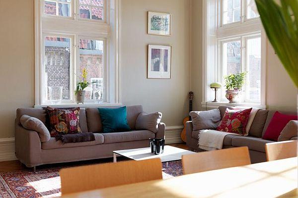 Spacious apartment with two balconies in Slottsstaden, Sweden for sale